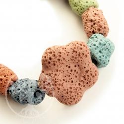 Lava Armband Bunte Blume Honolulu