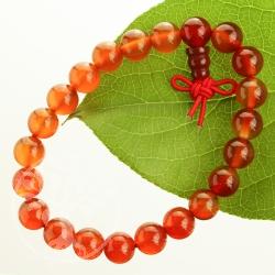 Carneol / Karneol Buddha Bead sehr klar