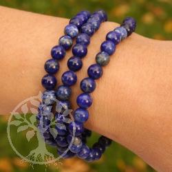 Lapis Lazuli Gemstone Bracelet Beads 6mm