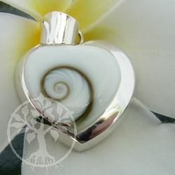 Heart Pendant Shiva Sterlingsilver