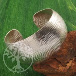 Silber Armreif grobe Struktur 925er Silber
