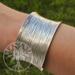 Silber armband afrika