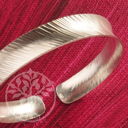 Silber Armreif schmal 925er Silber