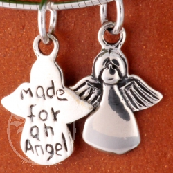 Angel Pendant silver jewellery 20mm