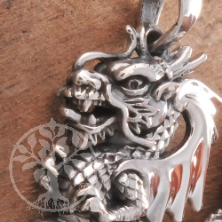 Dragon Pendant Silver 925