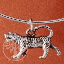 Tiger Silber Anhänger