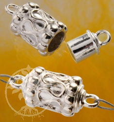Magnet Silber Verschluss Walze 925er Silberverschluss 12/20*8mm