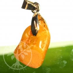 Natural Amber Pendant.