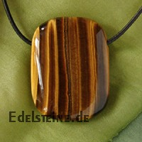 Tigers Eye Pendant Rectangled