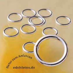 Bindring geschlossen 7.0x0.9mm Verbindungs Silberring 925
