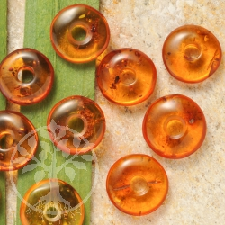 Amber Pendant Donut XS Viking Money 17/19mm