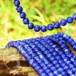 Lapislazuli Perlen Edelsteinperlen 8 mm A Lapislazuli Blau Natur