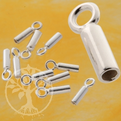 Crimp Cap Sterling Silver 10 mm