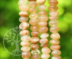 Moonstone Necklace  5 mm Silver925 Free Moon light