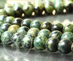 Eldarit Perlen 10 mm Eldaritperlen Edelsteinperlen 10mm 40cm langer Perlenstrang