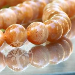 Mondstein Perlen Kugel 5mm AA-Qualität