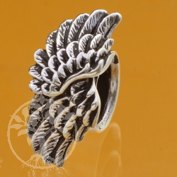 Silber Perle Flügel 925 8x9x10 mm Silberperle 925