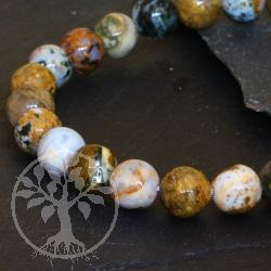 Ocean Jaspis Edelsteine Perlen 8mm A Ozeanachat Achatperlen