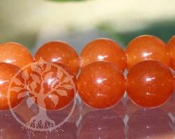Aventurin Rot Perlen 8 mm Kugelperlen AA