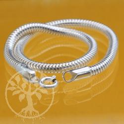 Armband  Charm Armkette Silberkette Schlangenkette 0.3X25cm Standard glanz