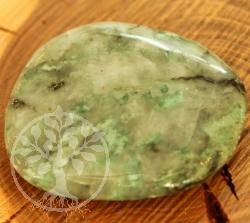 Smaragd Emerald Stein flacher Stein