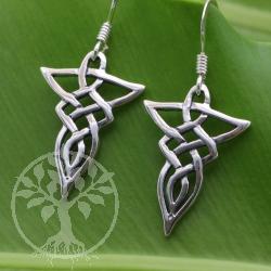 Celtic Knot Earrings Silver 925