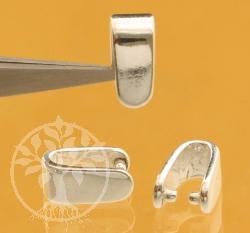 Silberöse Einhänger Fancy 925 Silber 4.5X8.5mm Groß und Schwer