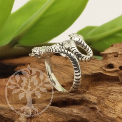Silberring Schlangen Ring Snake 21x32mm