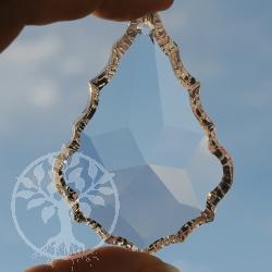 Teardrop Feng Shui Crystal, 88x60 mm Big