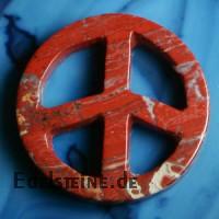 PEACE aus rotem Jaspis