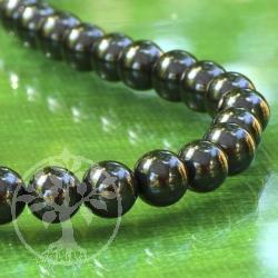 Schungit Perlen A 10mm Kugel Schungitperlen