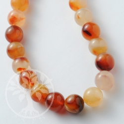 Carnelian Gemstone Beads 6.5mm