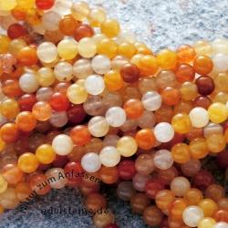 Karneol Edelstein Perlen 3 mm Carneolperlen Hell/dunkel