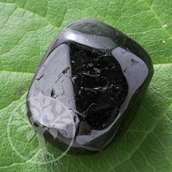 Turmalin schwarz -Schoerl- Trommelstein