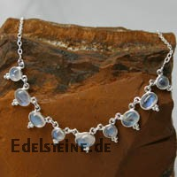 Moonstone Silver- Collier 6