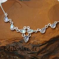 Mondstein Silbercollier Nr. 2 Silber 925