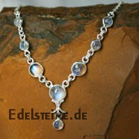 Moonstone Silver- Collier 4