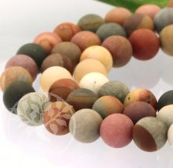 Imperial Jasper Matt Loose Beads 12mm, 40cm