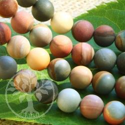 Imperial Jasper Matt Loose Beads 8mm