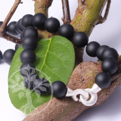 Onyx Necklace Silver 925
