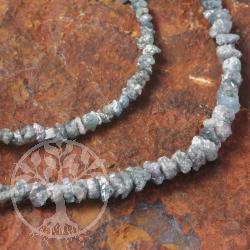 Diamant Halskette Blau
