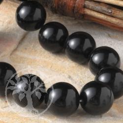 Obsidian Edelstein Kugelperlen 6 mm