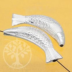 Silberperle Fisch Forelli Silber 925 41x11mm