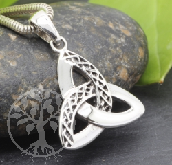 Celtic Silver Pendant Sterlingsilver 925 17x23mm