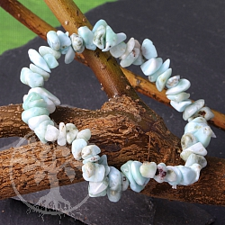 Larimar bracelet Tumbled Mini Gemstones