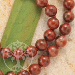 Red jasper neclace 60/8