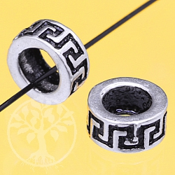 Silve Bead Molde Sterlingsilver 6x3mm