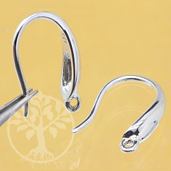 Earhook Sterlingsilver 925 3.5x15mm