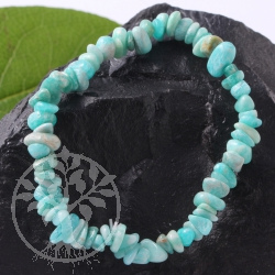Amazonite Chip Bracelet A-quality