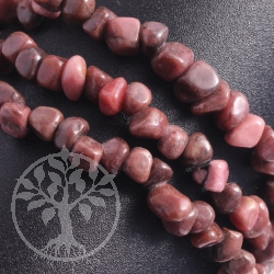 Rhodonite Bracelet rounded A-Quality
